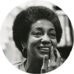 """I deeply hope that more of us will want to learn to protect Black language. If we lose our fluency in our language, we may irreversibly forsake elements of the spirit that have provided for our survival.""  June Jordan  ""White English/ Black English: The Politics of Translation,"" Civil Wars (1972)"